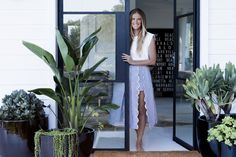 Designer Marika Jarv at home