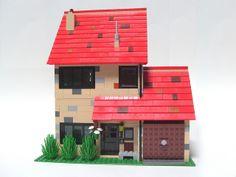 4 Privet Drive (by PteraFloDem) Lego Boards, Lego Modular, Lego Harry Potter, Lego Moc, Cata, Lego Creations, Lego City, 7th Birthday, Building Design