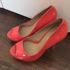 """Spotted while shopping on Poshmark: """"ALDO coral pump 37""""! #poshmark #fashion #shopping #style #ALDO #Shoes"""