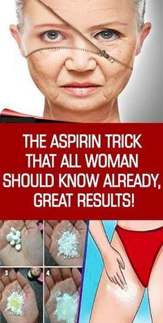 10 aspirin tricks every woman should know about! Everyone knows that Aspirin is used to treat fever, swelling, arthritis, and alleviate pain but did you know that you can use aspirin to treat so many other mild to moderate health issues? Beauty Skin, Health And Beauty, Beauty Care, Beauty Makeup, Skin Care Routine For 20s, Tips Belleza, Health Remedies, Natural Health, Natural Remedies