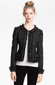 Mcginn 'Cass' Tweed Jacket available at #Nordstrom