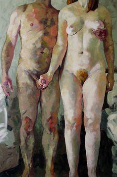"""Hanjo Schmidt; Acrylic, 2012, Painting """"Bread & Butter"""""""
