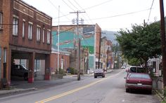 Downtown Richwood Historic District in Nicholas County, West Virginia.