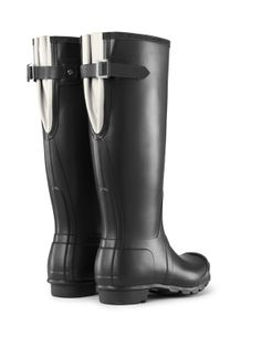 Colorblock Back Adjustable Rain Boots | Hunter Boot Ltd Now they have an adjustable back!