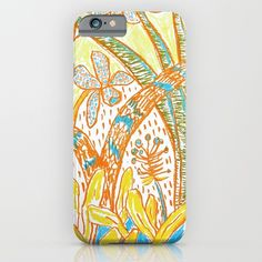 African Garden iPhone Case by janinege Iphone Cases, African, Stuff To Buy, Art, Kunst, I Phone Cases, Art Education, Artworks