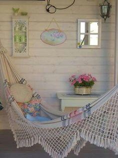 Pretty hammock :-)