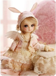 Little pink angel #bjd