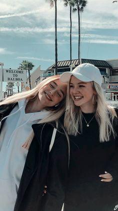 Cute Friend Pictures, Best Friend Pictures, Cute Friends, Best Friends, Girlfriend Goals, Cute Poses, Girl Photography Poses, Best Friend Goals, Besties