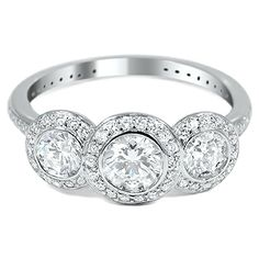 The Latika Ring #BrilliantEarth #Vintage