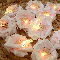 Flower Fairy Lights for Bedroom