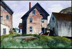 Edward Hopper - Gloucester Mansion