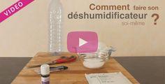Pour lutter contre l'humidité d'une pièce et éviter les moisissures, il est nécessaire d'utiliser un déshumidificateur. Découvrez cette technique pour fabriquer soi-même son déshumidificateur écologique. Le sel va absorber naturellement l'humidité présente dans votre maison.