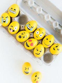 Emotikon húsvéti tojás