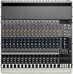 This is the O Red Mixer for live sound:  The Mackie 1604-VLZ Pro. Its a workhorse of the industry. I've used it for over 10 years both as a direct out into DIGI002 Rack and a live sound front of house.  http://www.mackie.com/products/1604vlz3/