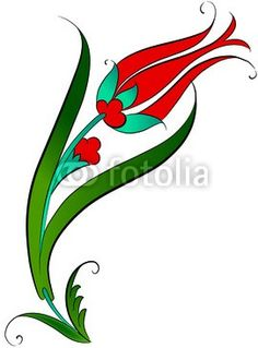 Çini Lalesi Deseni - Buy this stock vector and explore similar vectors at Adobe Stock Turkish Design, Turkish Art, Hand Embroidery Patterns, Embroidery Designs, Motifs Islamiques, Turkish Pattern, Christmas Drawing, Stencil Painting, Stained Glass Patterns
