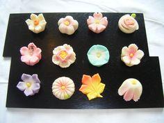 flower wagashi