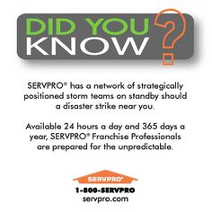 SERVPRO Medford Did You Know?