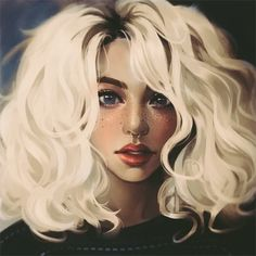 Character Concept, Character Art, Character Design, Hair In The Wind, Anime Art Girl, Blondes, Female Characters, Character Inspiration, Fantasy Art