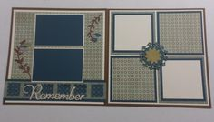 layout by Kathy Burrows using CTMH Avonlea paper