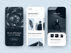 Not grayscale designed by Julien Brion. Connect with them on Dribbble; Ecommerce Web Design, Mobile Ui Design, App Ui Design, User Interface Design, Flat Design, Website Design Layout, Web Layout, Layout Design, Design Design