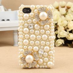 iphone 5 case   handmade  flowers case  Fashion by dnnayding, $27.99
