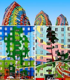 Ramenskoe apartment district in Moscow