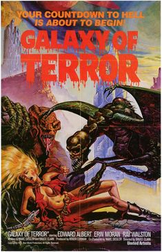 John's Old School Horror Corner: Galaxy of Terror (1981), one of the stupidest…