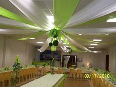 mariage vert idee mariage notre mariage dcoration mariage voile d hivernage joli voilage la dco dcoration de dco salle - Voile D Hivernage Mariage