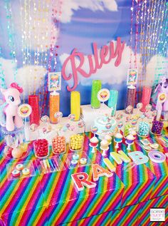 My Little Pony Candy Table