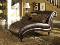 BEST PRICING  FREE SHIPPING  HIGH QUALITY  Indoor Chaise Lounge Chair Comfy Sofa Curved Nailhead Tufted Daybed Seat Home  DETAILS  A delightful beauty with curves in all the right places, this gorgeous indoor chaise lounge chair, with its deep-...