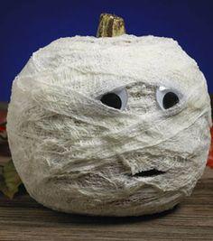 Scared Stiffy Pumpkin