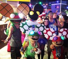 Deadmau5 edc costumes #PembertonFest// pembertonmusicfestival.com