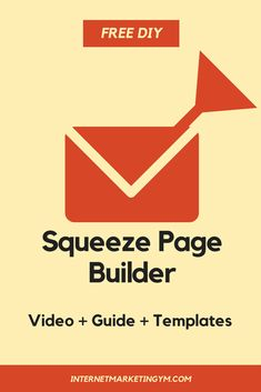 squeeze page design squeeze page squeeze page templates Learn how to create a squeeze page fast and free. Email Marketing, Affiliate Marketing, Internet Marketing, Marketing Products, Page Template, Templates, Page Design, Web Design, Make Money Online