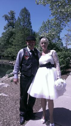 Tom and Nanci were married at The Rex Plex Gazebo in St. Peters, MO on may 10, 2014