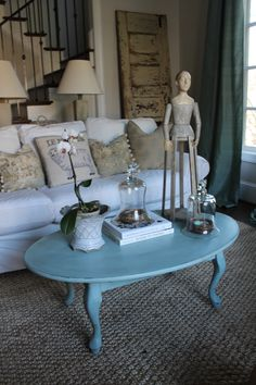 www.blueeggbrownnest.com  refinished antique furniture