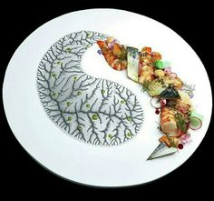 No Chef  ^ _ ^ beauty  Food plating