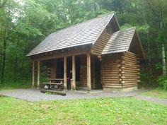 Appalachian Trail Shelters | Bill's Blog » Appalachian Trail, 2011 – Day 6, Partnership Shelter