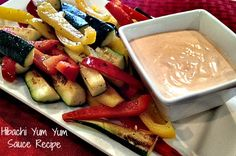 Hibachi Yum Yum Sauce Recipe. We don't know about you, but when we go out for hibachi the yum yum sauce is our favorite. While most just use it for their vegetables, we use it on everything.