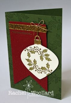 Gold embossed ornament