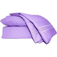Mezzati Prestige 1800 Thread Count Microfiber Bed Sheet Set