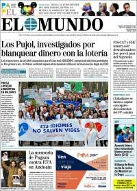 2018-02-19 Periódico El Mundo (España). Periódicos de España. Toda la prensa de hoy. Kiosko.net