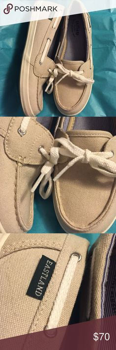 EASTLAND WOMENS BOAT SHOES Superb like new condition wore once, do not fit me , I paid 110. 2 months ago Eastland Shoes Flats & Loafers