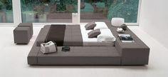 Le Squaring Bed par Bonaldo