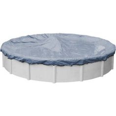 Value-Line Winter Cover for Round Above Ground Swimming Pools, Blue