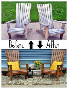 how to spray paint a wooden adirondack chair pinterest wooden