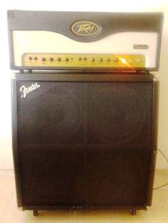 Peavey Windsor Head with Fender FM412 Cabinet Half Stack for Sale in Phoenix, Arizona Classified | AmericanListed.com