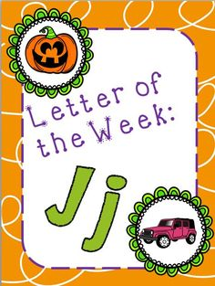 Letter of the Week: Jj