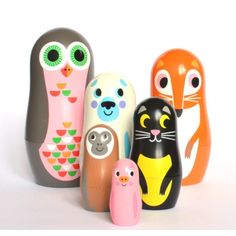 do your kids love nesting dolls as much as mine?
