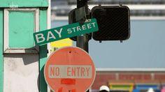 The Bay Street in Nassau