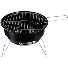 ZY Portable Outdoor Charcoal Grill * Click image for more details.